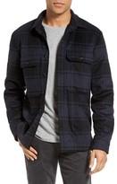 Vince Men's Plaid Military Shirt Jacket