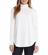 Karen Kane Turtleneck Long-Sleeve Tee