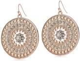 Jessica Simpson Around the Way Disc Earrings