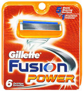 Gillette Fusion Blades by 4 Blades)