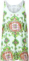 Givenchy carpet print tank top - men - Cotton - XL