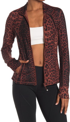 90 Degree By Reflex Lux Printed Full-Zip Jacket