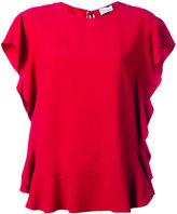 RED Valentino ruffle blouse - women - Acetate/Viscose - 40