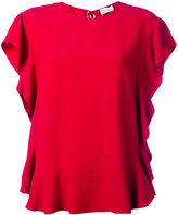 RED Valentino ruffle blouse - women - Acetate/Viscose - 44