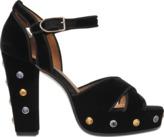 Sonia Rykiel Velvet platform sandal