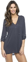 Nautica Classic Stripe Hooded Tunic