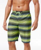 """Nike Men's Swift Striped Volley Swim Trunks, 11"""""""