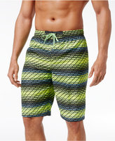 Nike Men's Swift Striped Volley Swim Trunks, 11and#034;