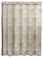 Nobrand No Brand Lace Shower Curtain- Cappuccino