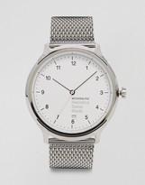 Mondaine Helvetica Mesh Strap Watch