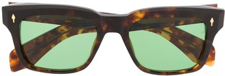 Jacques Marie Mage Tortoiseshell Frame Sunglasses