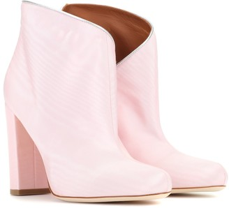 Malone Souliers Exclusive to Mytheresa Eula 50 moire ankle boots
