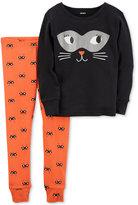 Carter's 2-Pc. Cat Cotton Pajama Set, Baby Boys & Girls (0-24 months)