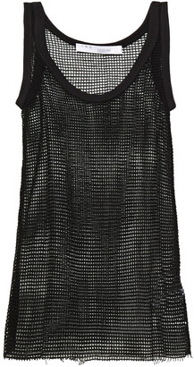 IRO Open-knit Cotton Tank