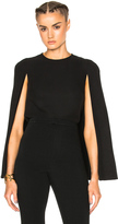 Valentino Cady Top with Cape Detail