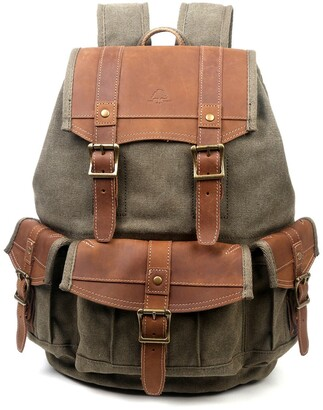 Tsd Turtle Ridge Canvas Backpack