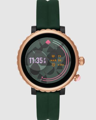 Kate Spade Scallop Sport Green Smartwatch