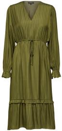 Selected Callie Damina Dress - Winter Moss - 8 (34)