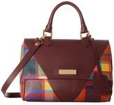 Vivienne Westwood Amberley Tartan Bag Satchel Handbags