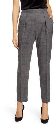 Anne Klein Plaid Straight Leg Pants