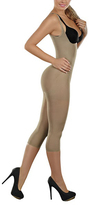 Cocoon Nude Moderate Compression Thermal Braless Bodysuit