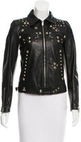 R 13 Spring 2016 Studded Leather Jacket w/ Tags