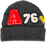 American Outfitters Kids beanie with patches