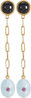 Lizzie Fortunato Moroccan Modern Linked Earrings