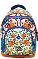 Dolce & Gabbana printed backpack