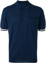 Lanvin polo top - men - Cotton/Wool/Silk - L