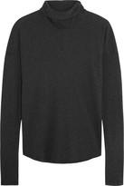 James Perse Cotton-jersey turtleneck top