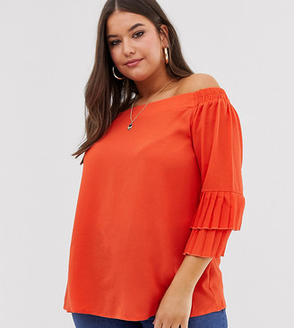 Bardot Lovedrobe tiered sleeve blouse