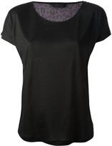 Karl Lagerfeld leopard print t-shirt