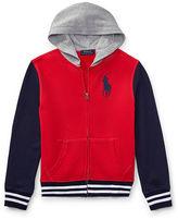 Ralph Lauren 8-20 Cotton French Terry Jacket