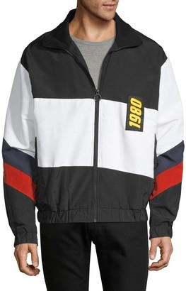 Eleven Paris Colorblock Full-Zip Jacket