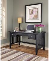 Arts and Crafts Executive Desk - Black