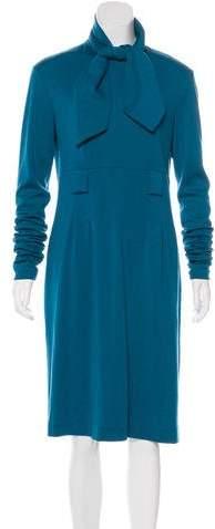 Chanel Wool Midi Dress