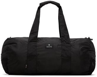 Snow Peak Black Packable Duffle Bag