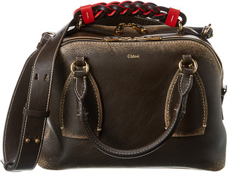 Chloé Daria Leather Shoulder Bag