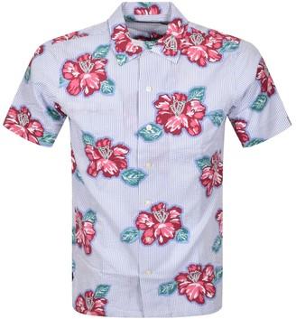 Ralph Lauren Classic Fit Short Sleeve Shirt Blue