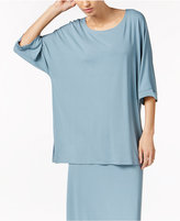 Eileen Fisher Jersey Three-Quarter-Sleeve Tunic