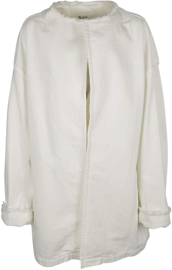 Y's Lace-up Detail Coat