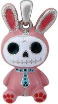 Summit Furry Bones Skull Pink Bunny Bun Bun Pendant Jewelry Accessory