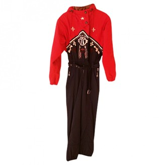 Bogner \N Red Jumpsuit for Women Vintage