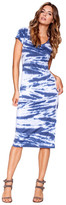 Saint Grace - Tilly Midi Dress In Abyss Tiger Wash