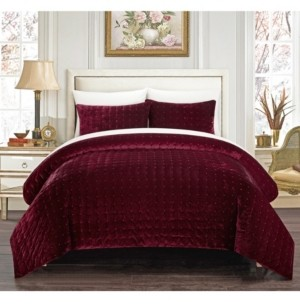 Chic Home Chyna 7-Pc. Queen Bed In a Bag Comforter Set Bedding