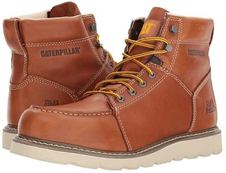 Caterpillar Tradesman (Brown Full Grain Leather) Men's Boots