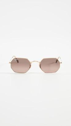 Ray-Ban Narrow Icons Hexagonal Sunglasses
