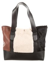 Opening Ceremony Shearling Small Millie Tote