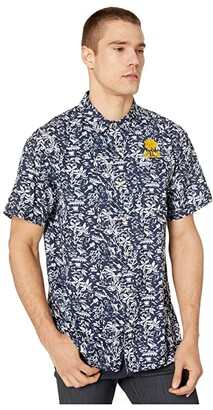 Columbia College Notre Dame Fighting Irish CLG Super Slack Tidetm Shirt (Collegiate Navy) Men's Clothing